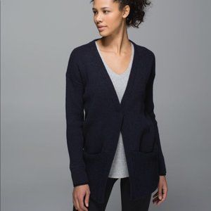 Lululemon We Like To Cardi Sweater